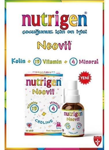 Nutrigen Nutrigen Neovit Neonatal Kolinli Vitamin Mineral Oral Sprey 25 Ml Renksiz
